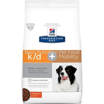 Hill's Prescription Diet k/d + Mobility Canine Dry Food (Chicken) 3.86kg