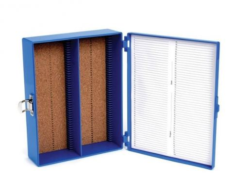 100 PLACE TALL PREMIUM MICROSCOPE SLIDE BOXES