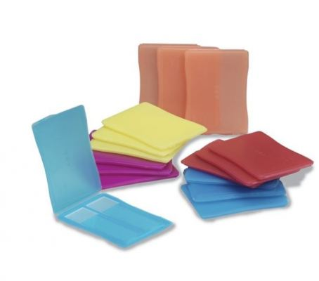 PLASTIC 1 AND 2 PLACE SLIDE MAILERS