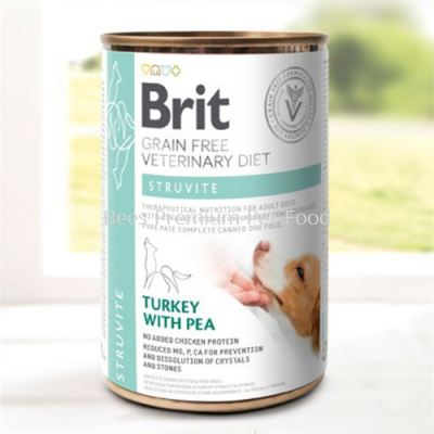 Brit Veterinary Diets Dog Struvite CAN Food 400g
