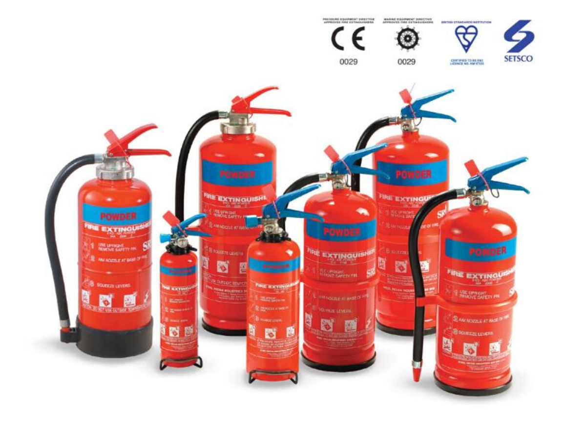 IPFS4-EN3 POWDER TYPE FIRE EXTINGUISHER