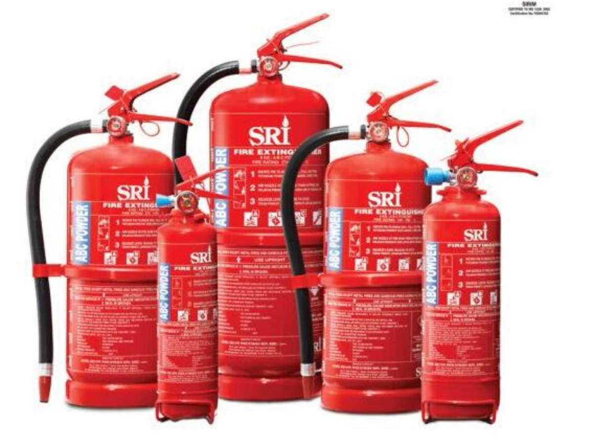 IPFS9-PORTABLE DRY POWDER FIRE EXTINGUISHER MS1539