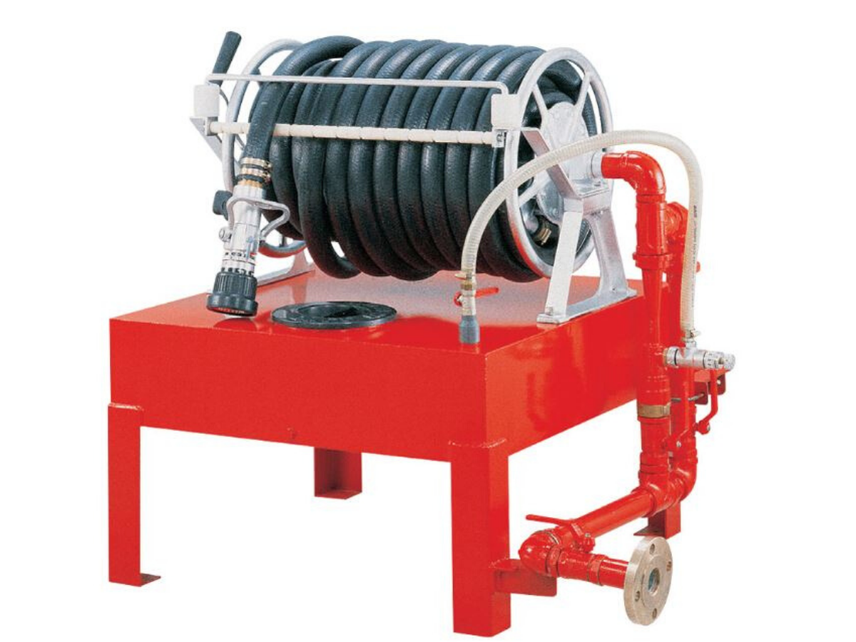 IPFS21-FOAM HOSE REEL STATION