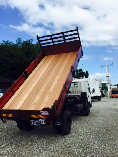 Wooden Tipper