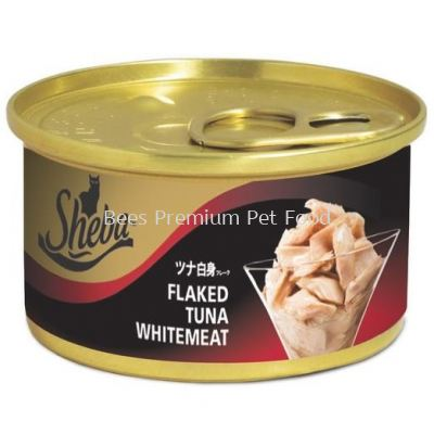 Sheba Flaked Tuna In Gravy Canned Cat Food 85g