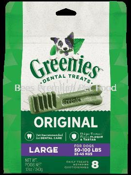 GREENIES Original Large Dog Dental Treats 12oz (8 count)