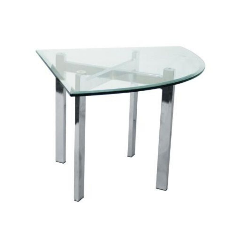 IPCL-7700/8T TRIANGLE COFFEE TABLE WITH TEMPERED GLASS TABLE TOP