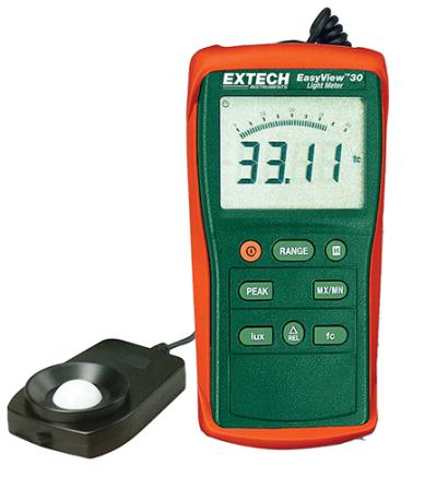 Extech EA30 EasyView™ Wide Range Light Meter