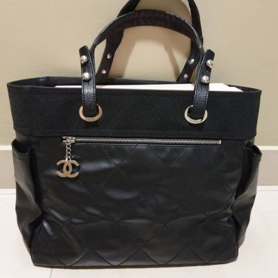 Chanel Biarritz Tote in Black