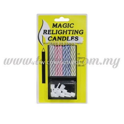 Magic Relighting Candle 1pack *10pcs (CDL-MG)