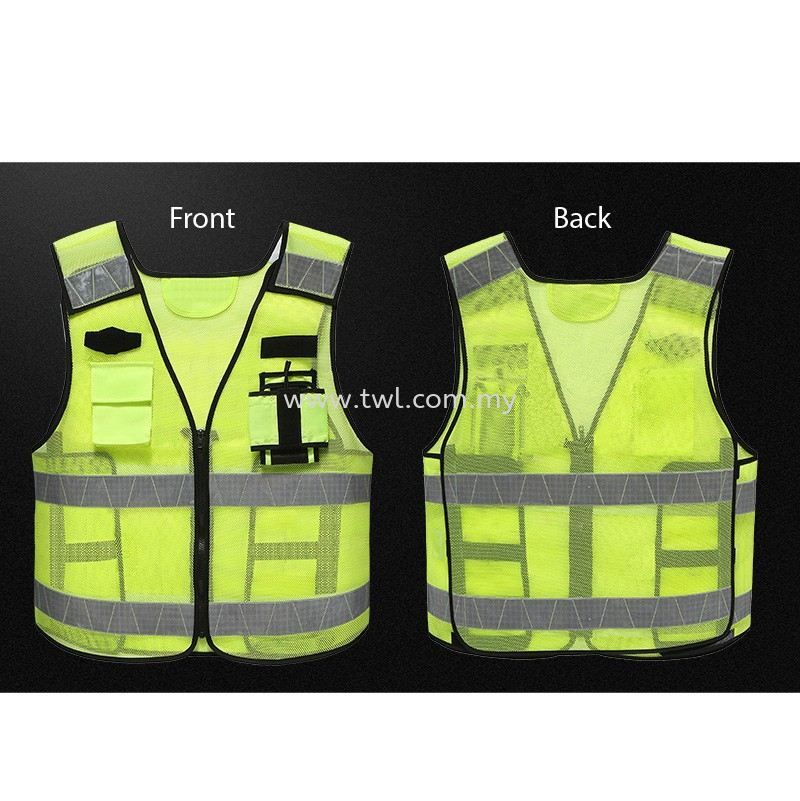Breathable Mesh Safety Vest (RV002)