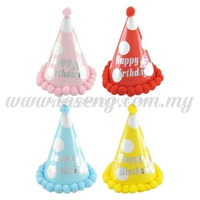 Hat Happy Birthday 24cm -Big (HAT-HB-B2)