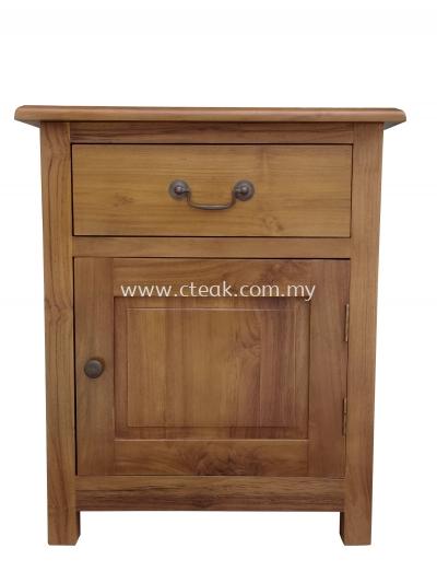1 Drawer + 1 Door Bedside Table