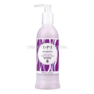 OPI Avojuice Violet Orchid Hand and Body Lotion 250ml