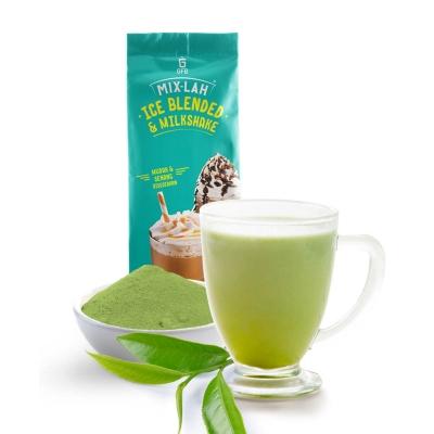 Ice blended Green Tea Latte powder