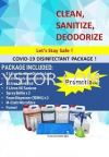 Disinfectant & Sanitize Kits  (include Hand Sanitizer) Hand Sanitizer, Disinfecting Kits Solution