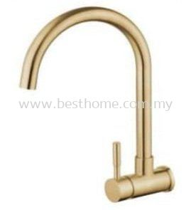 WALL SINK TAP - GOLD