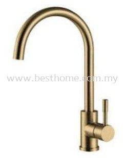 SINK MIXER - GOLD