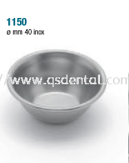 1150 Miscellaneous Cups 40mm inox