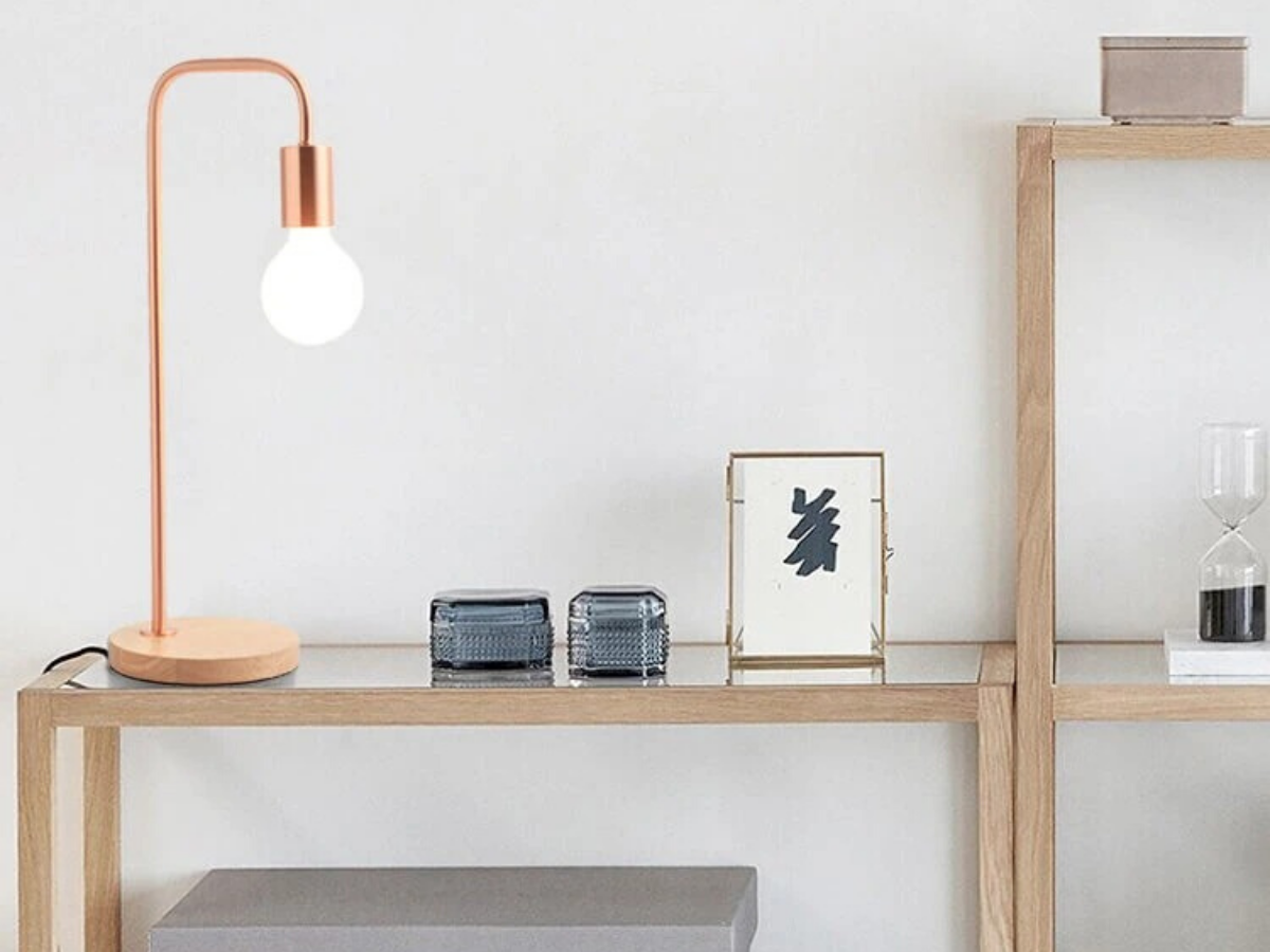 IP-RGD ROSE GOLD DOWNLIGHT TABLE LAMP