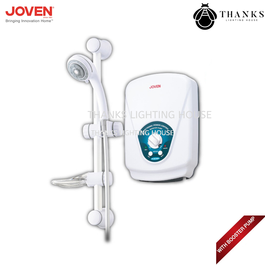 Joven Instant Water Heater With Ac Booster Pump - PC838P