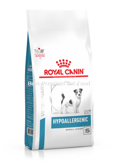 Royal Canin HYPOALLERGENIC SMALL DOG Food 1kg