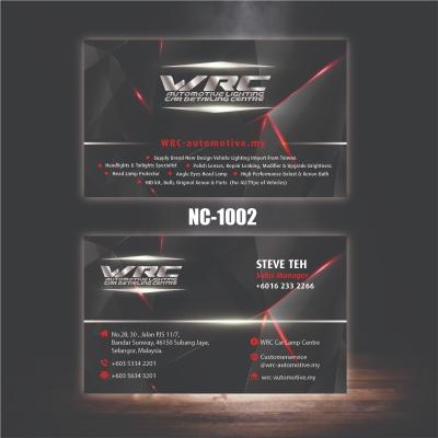 Automotive Name Card - NC1002