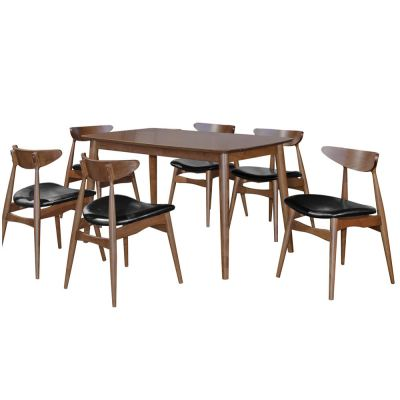Pavilion (1+6) Solid Wood Dining Table
