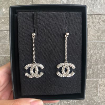 Brand New Chanel Classic Dangling Earring
