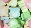 Marshmallow Colour Bear Filling,Topping and Glazes Ingredients