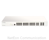 D-Link 28-Port Nuclias Cloud-Managed PoE Switch DBS-2000-28MP