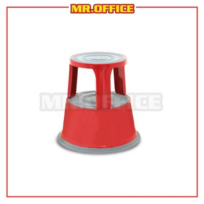 MR.OFFICE : WB-1123R Red Kick Step Stool