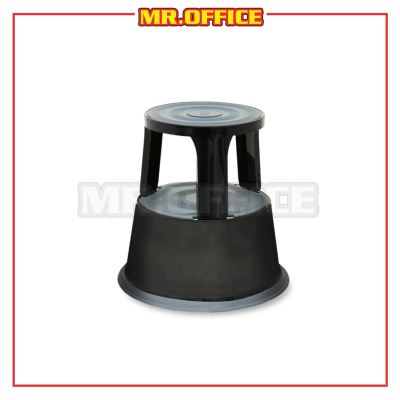 MR.OFFICE : WB-1123BK Black Kick Step Stool