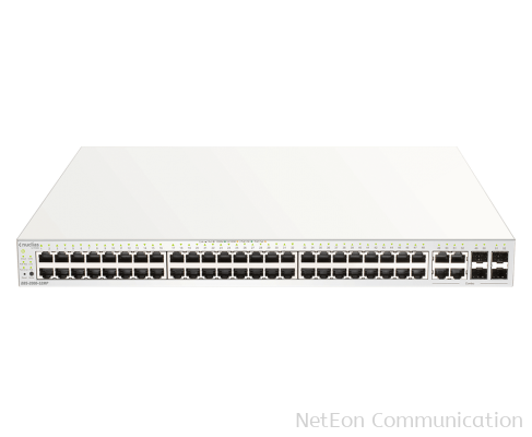 D-Link 52-Port Nuclias Cloud-Managed PoE Switch
