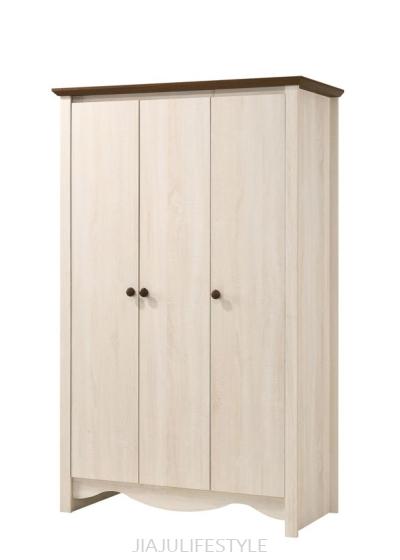 Victoria 3 Doors Wardrobe