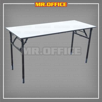 MR.OFFICE : VF-315N(DG-G) 900Wx450D(mm) FOLDABLE RECTANGULAR TABLE