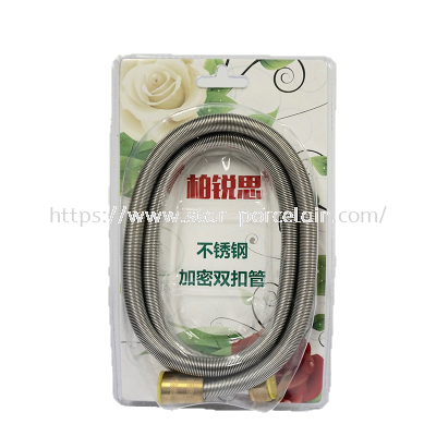 S/Steel shower hose explosion-proof