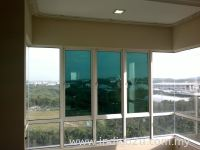 Window Film : 3Ply Reflective Green