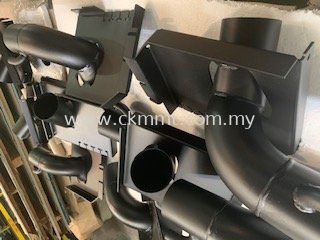 Exhaust parts for truck