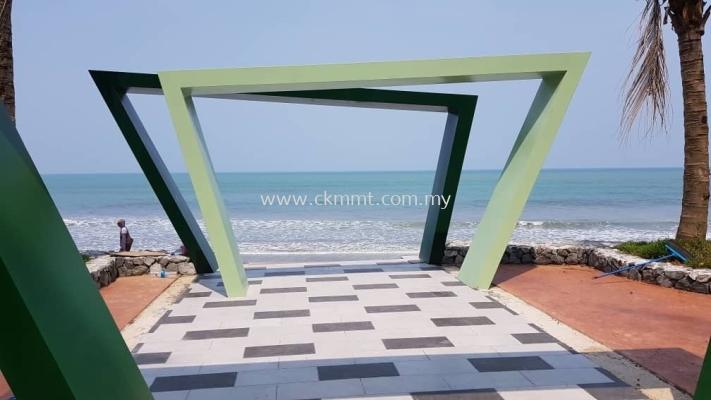 Entry Portal Frame