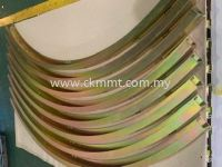 Curve Structure with plating
