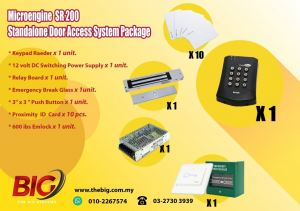 STANDALONE DOOR ACCESS SYSTEM PACKAGE SR200