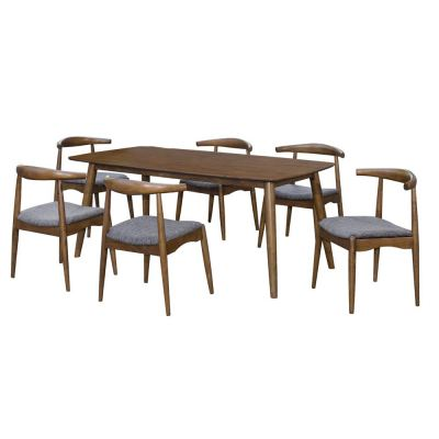 Miami (1+6) Solid Wood Dining Set