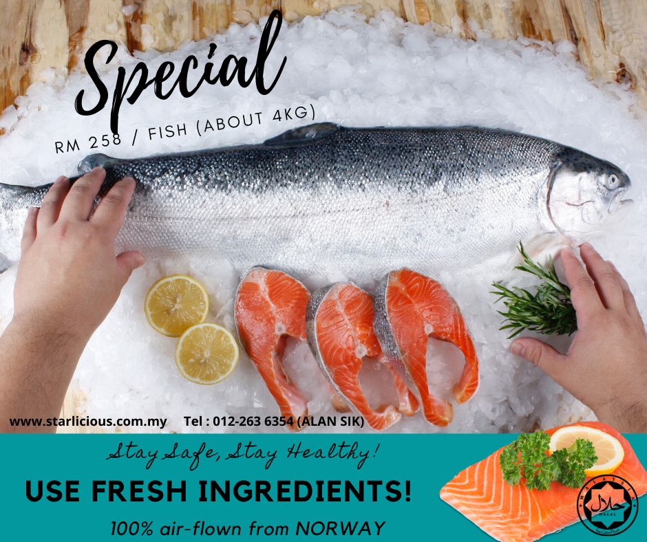 Fresh Salmon on SALE!