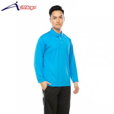 ATTOP COLLAR LONG SLEEVE ALS600A TURQUOISE