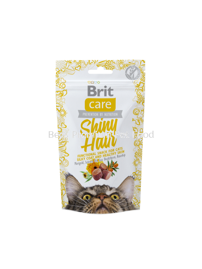 Brit Care Cat Snack Shiny Hair 500g