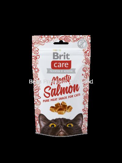 Brit Care Cat Snack Meaty Salmon 500g