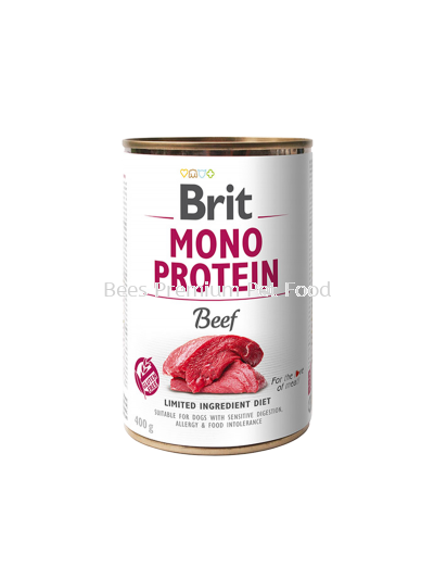 BRIT MONO PROTEIN BEEF CAN Dog Food 400g