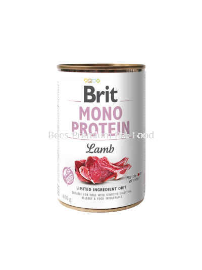 BRIT MONO PROTEIN LAMB CAN Dog Food 400g