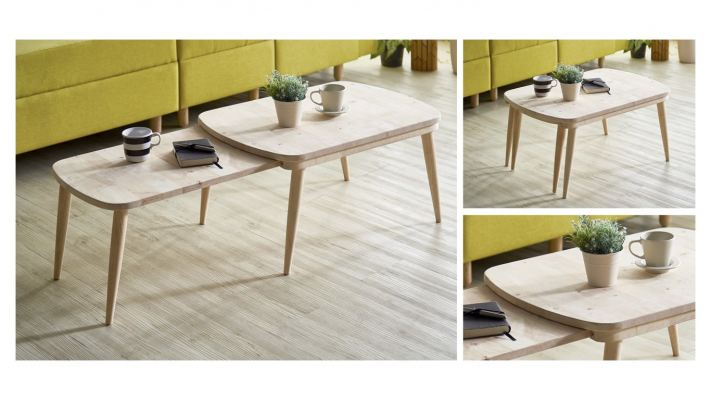 Big Tongue Extendable Coffee Table